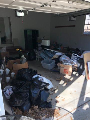 Garage Junk Removal in Milton, GA