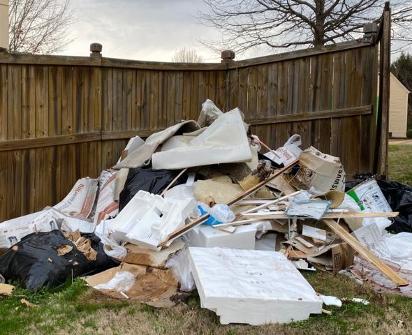 Construction Debris Removal in Cumming, GA