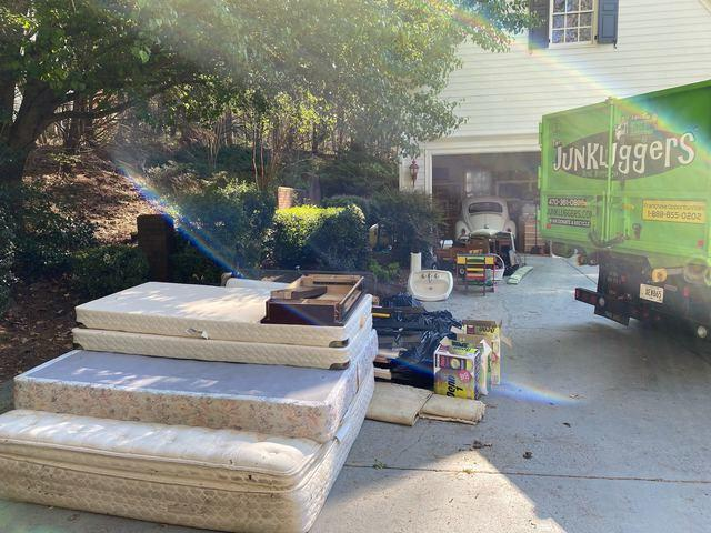Junk Removal in Milton, GA - Before Photo