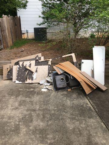 Construction Debris Removal in Woodstock, GA