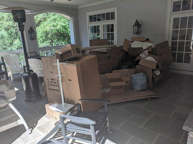 Post-move Cleanout in Cumming, GA