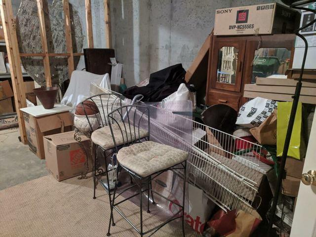 Basement Cleanout in Alpharetta, GA