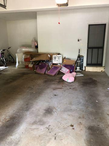 Garage cleanup in Cumming
