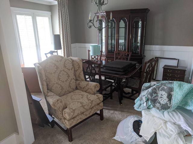 Furniture Removal in Gwinnett County, Georgia - Before Photo