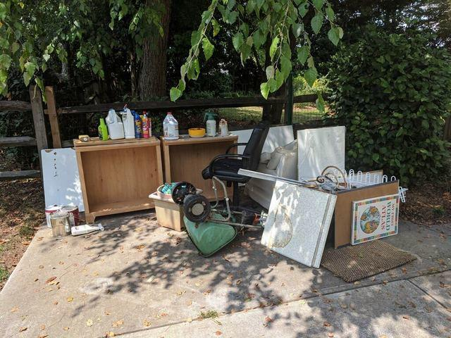 Household furniture and junk removal in Johns Creek, Georgia