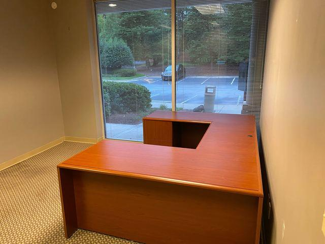 Office Desk Removal in Milton, Georgia.