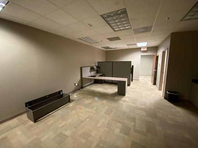 Office Work-Station Removal in Milton, Georgia.