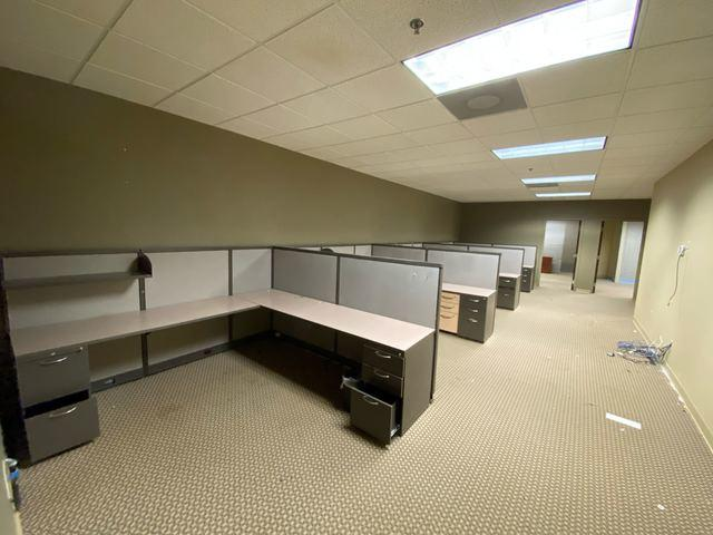 Office Cubicle Removal in Milton, Georgia.
