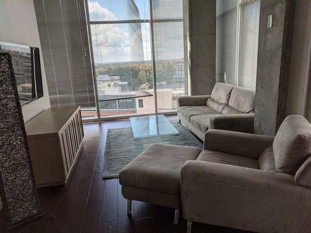 Apartment furniture cleanout in Atlanta, Georgia.