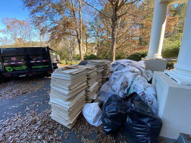 Dumpster rental alternative in Milton, Georgia.