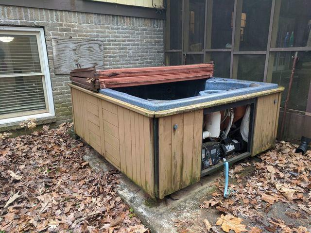 Hot tub removal in Duluth, Georgia