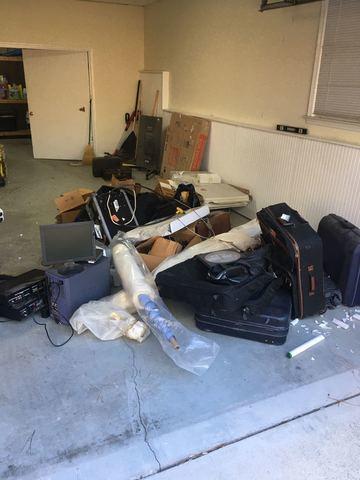 Garage Junk Removal in Atlanta, Georgia.