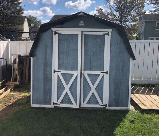 Shed Demo & Removal in Horsham, PA - Before Photo