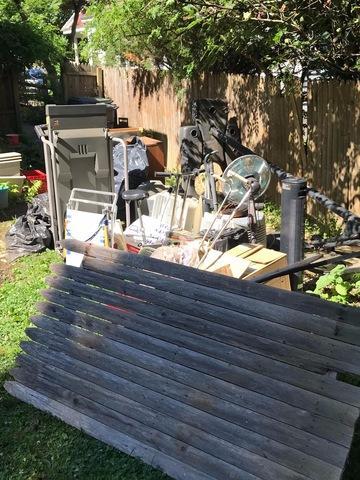 Summer Decluttering in Glenside, PA - Before Photo