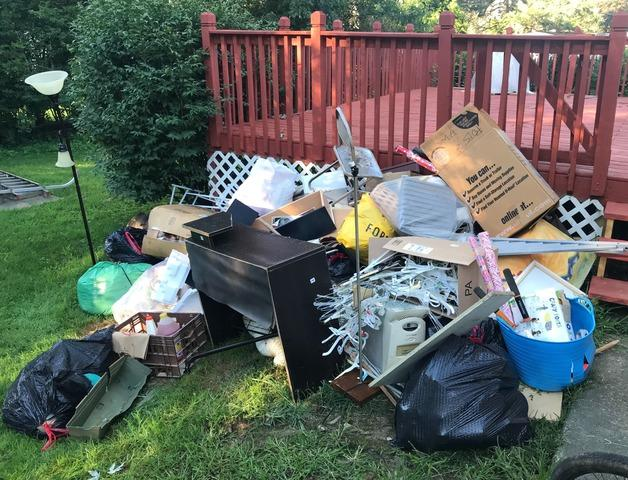 Junk Removal in Abington, PA - Before Photo