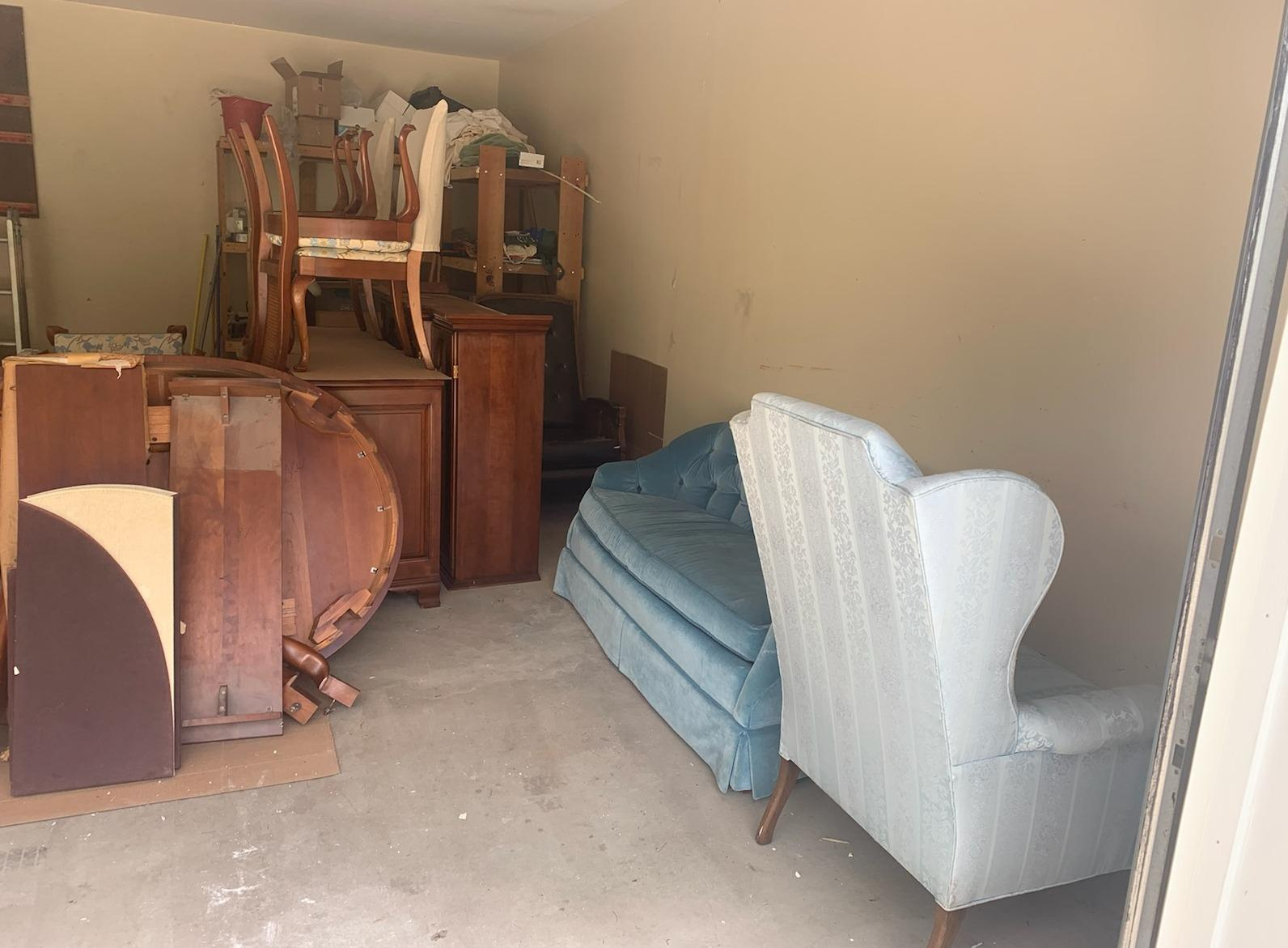 Furniture removal in Monroe Township, NJ - Before Photo