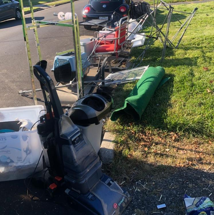 Curbside Pick-up in Edison, NJ - Before Photo