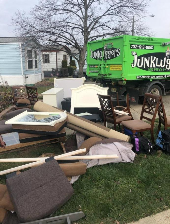 Furniture removal North Brunswick, NJ - Before Photo