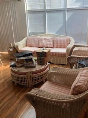 Living room furniture removal Monroe, NJ - Before Photo