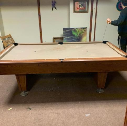 Pool table removal in Bridgewater, NJ