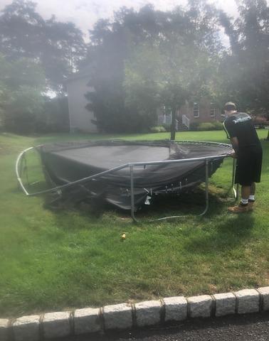Trampoline Removal in Green Brook, NJ
