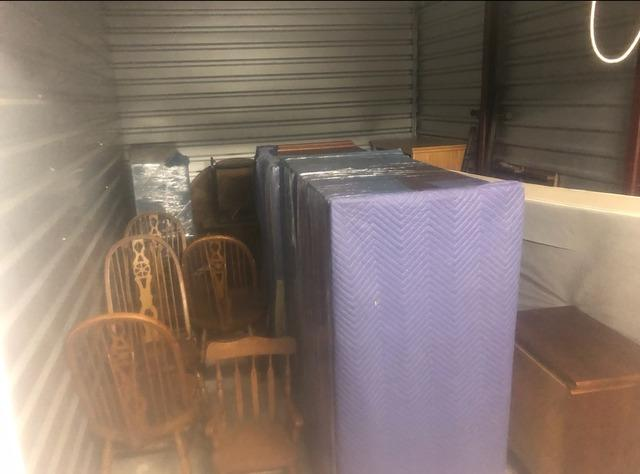 Storage Unit Cleanout (1 of 4) in Princeton, NJ - Before Photo