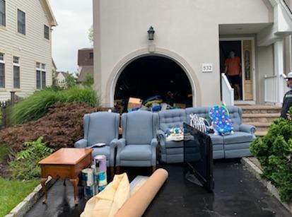 Garage clean out in Westfield, NJ