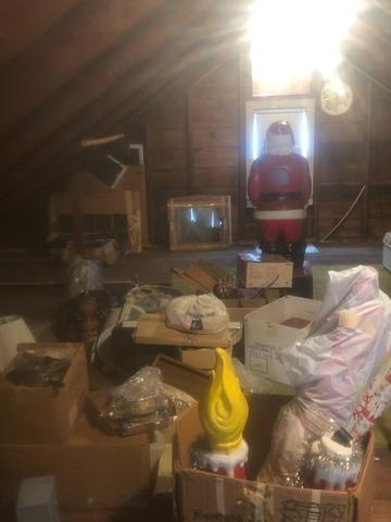 Attic clean out in Union