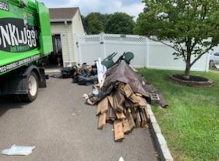 Garage clean out in Woodbridge Township, NJ