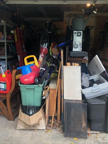 Garage clean out in Basking Ridge, NJ
