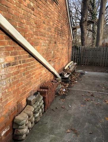 Apartment complex clean up in Plainfield, NJ
