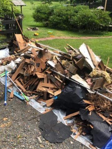 Old Deck Debris Removal in Basking Ridge, NJ