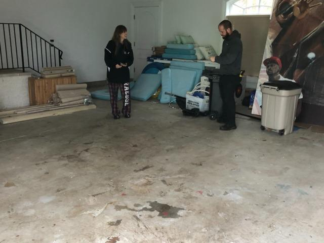 North Caldwell House Cleanup