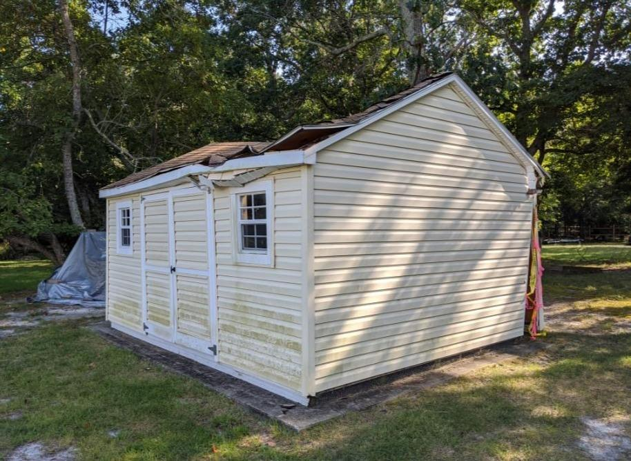 Jackson, New Jersey 12x16 Shed Dismantle & Removal - Before Photo