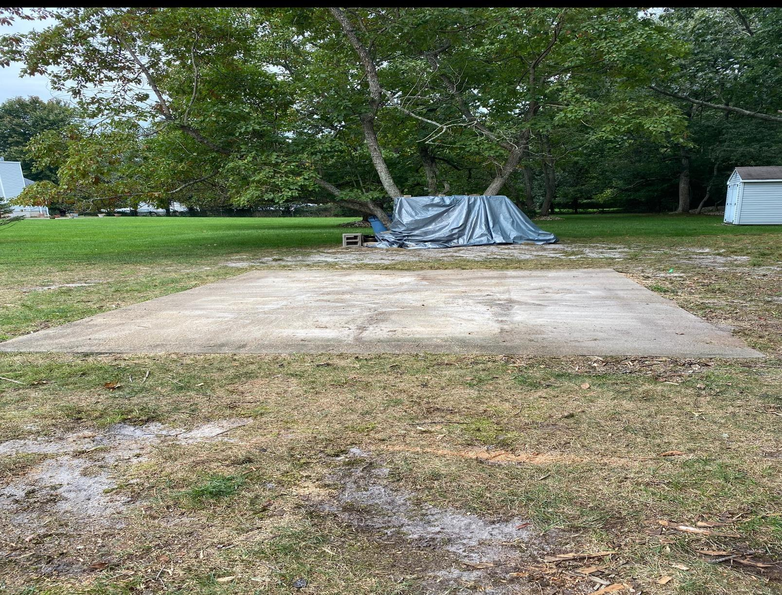 Jackson, New Jersey 12x16 Shed Dismantle & Removal - After Photo