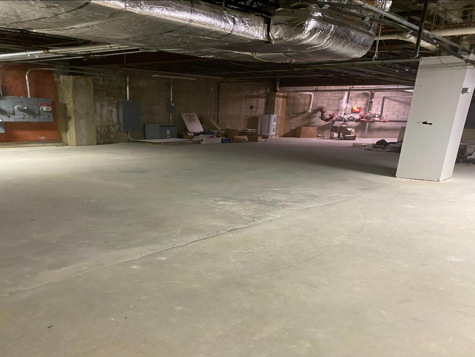 Medical Office Basement Cleanout Brick Township, NJ - After Photo