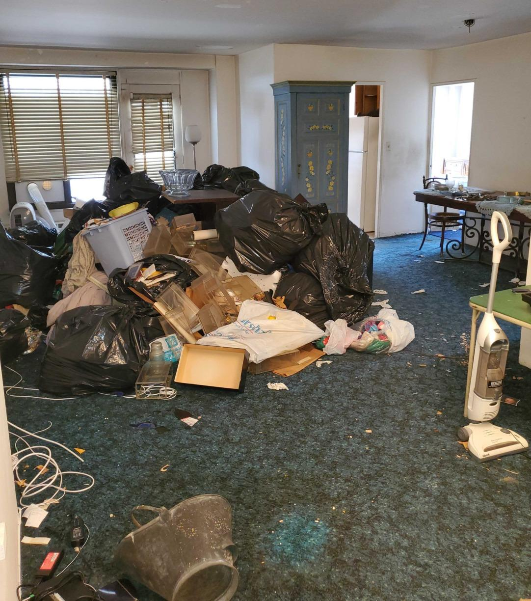 Full Apartment Cleanout in Rego Park - Before Photo