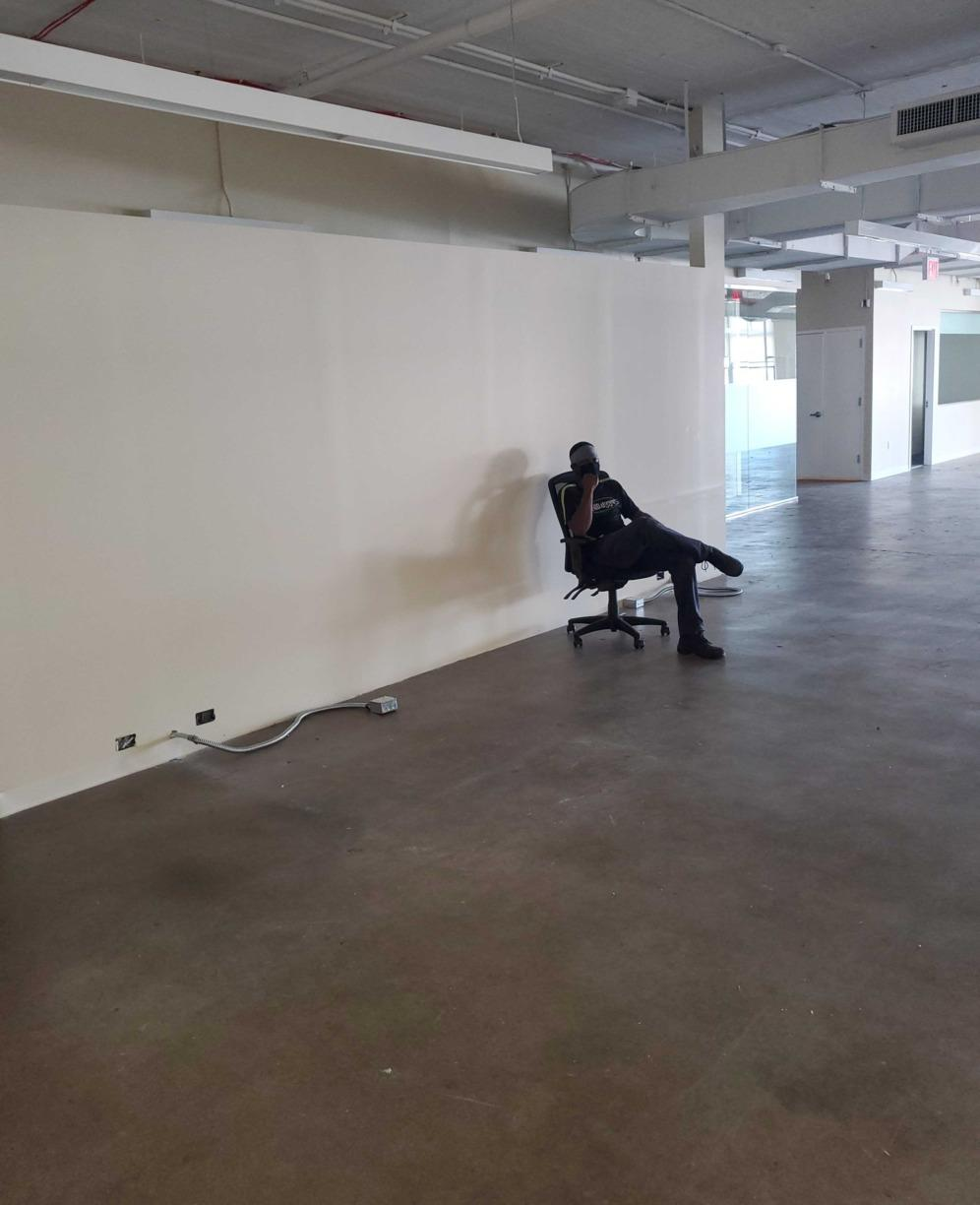 Removing office chairs to be donated in Long Island City, NY - After Photo