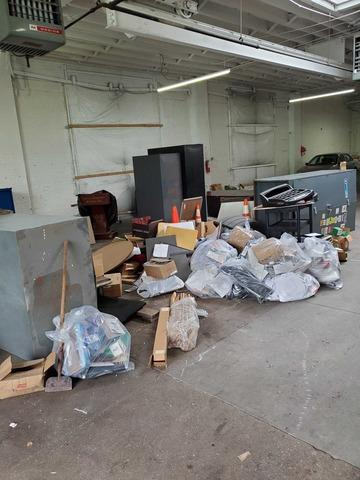Warehouse Cleanout in Long Island City, NY