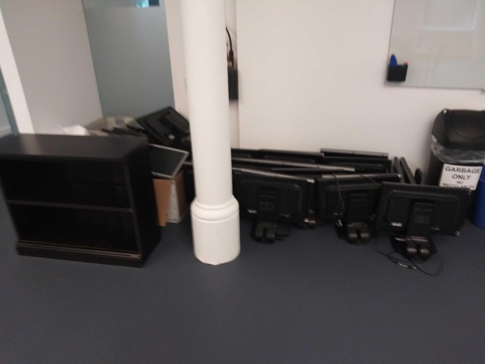 E-waste Recycling in New York City, NY - Before Photo