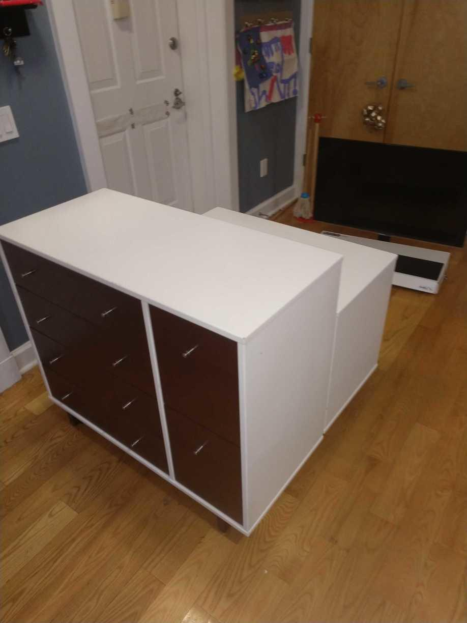Dresser Removal in Park Slope, Brooklyn, NY - Before Photo