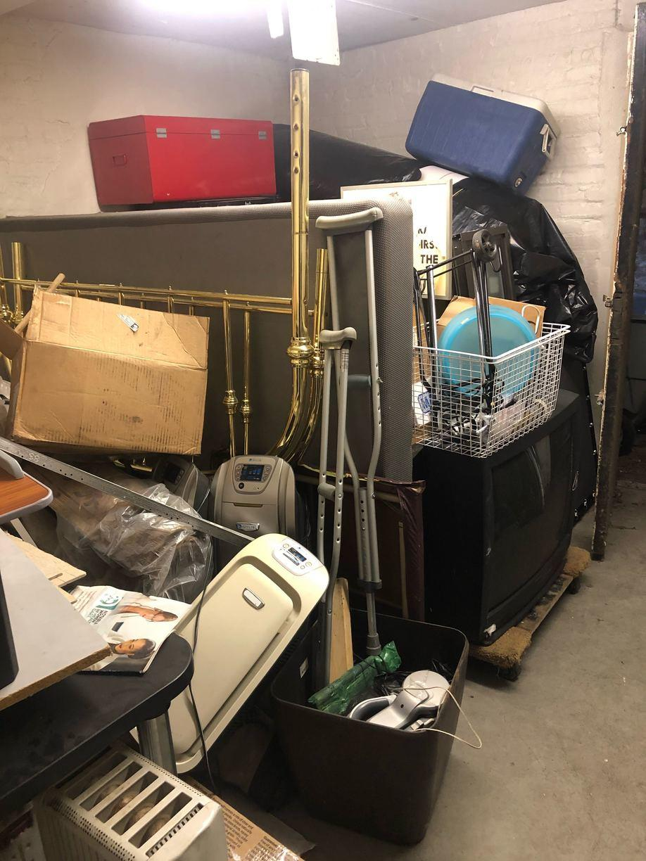 Property Management Basement Clean out - Gravesend Brooklyn, NY - Before Photo
