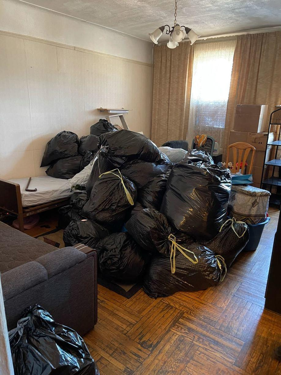 Residential Cleanout - Madison BK, NY - Before Photo