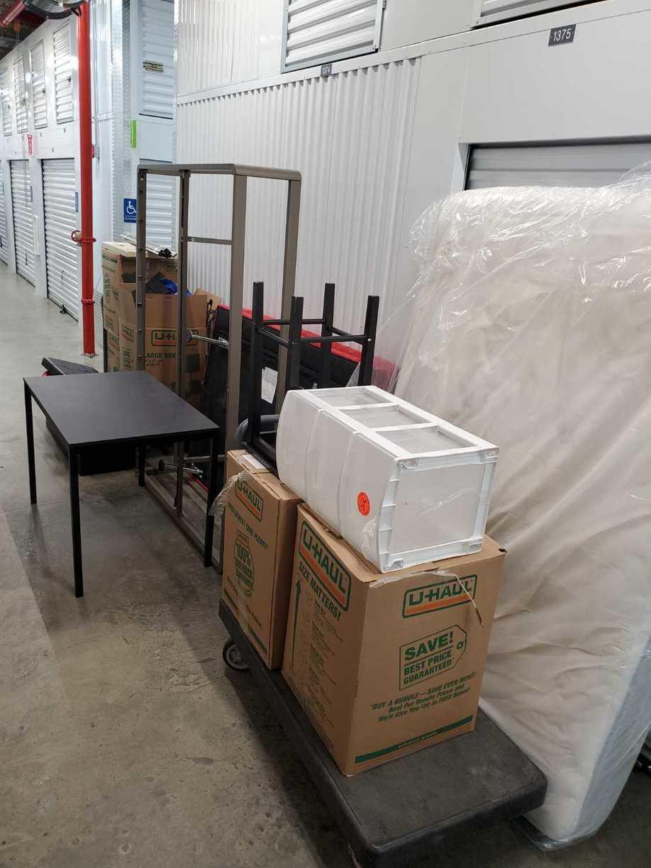 Mattress and Furniture Removed from Storage Unit - Sunset Park, Brooklyn, NY - Before Photo