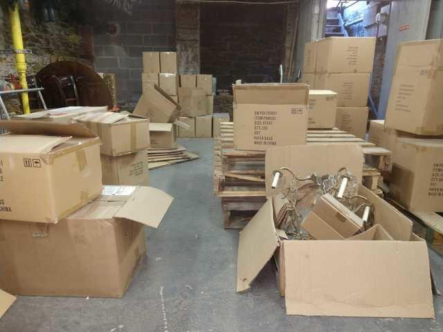 Wood Pallet & Cardboard Box Pickup in Midtown NY, NY