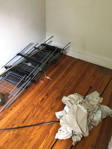 Storage Rack Removal in Red Hook, Brooklyn, NY