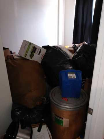 Bedroom Clean out and Junk removal - Red hook Brooklyn, NY