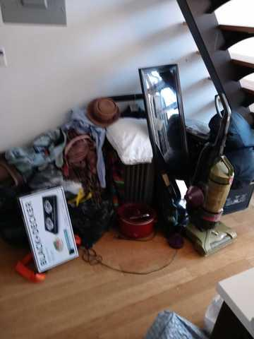 Apartment clean out on Meserole Street