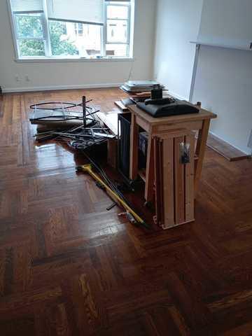 Prospect Park apartment clean up - Before Photo