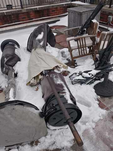 Residential Backyard Junk Removal - Park Slope BK, NY